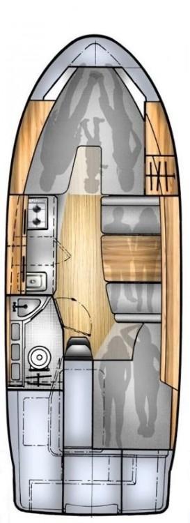 Alquiler de yate Kukljica - Balt-Yacht Balt 818 Titanium en SamBoat