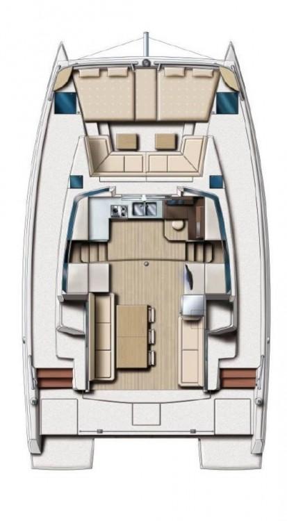 Alquiler Catamarán en Corfou - Catana Bali 4.0 - 4 + 2 cab.