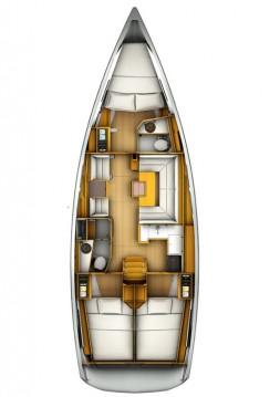 Alquiler de Jeanneau Sun Odyssey 409 en Portocolom