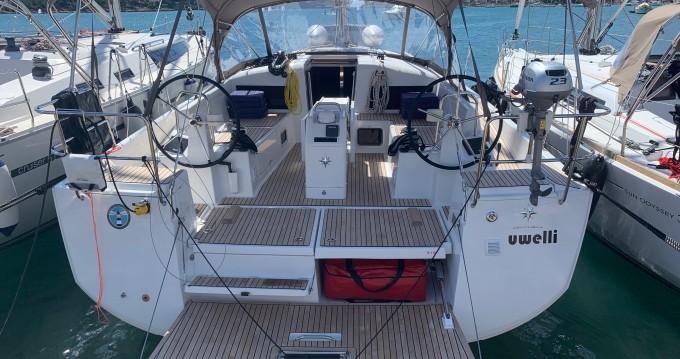 Alquiler de barcos Jeanneau Sun Odyssey 440 enPortocolom en Samboat