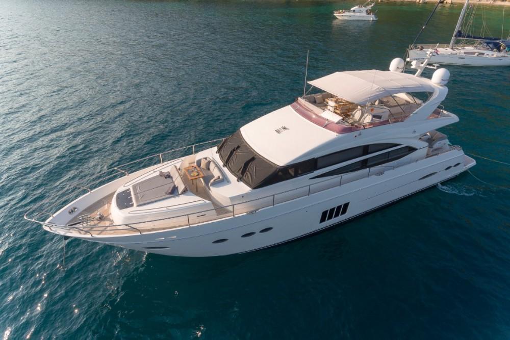 Alquiler Lancha Princess-Yachts con título de navegación