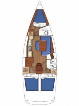 Alquiler de barcos Lefkada (Isla) barato de Oceanis 40