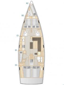 Alquiler de barcos Hanse Hanse 508 enKaštela en Samboat