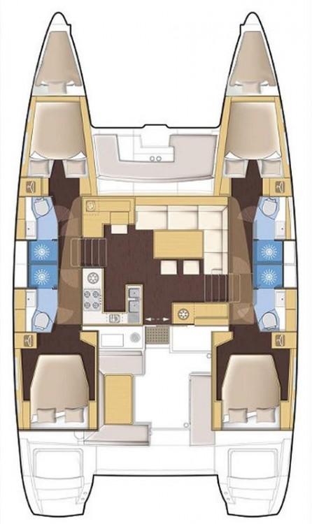 Alquiler de barcos Croacia barato de Lagoon 450