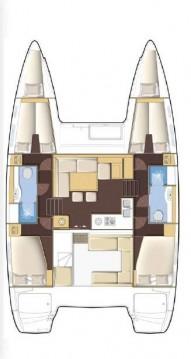 Alquiler de barcos Atenas barato de Lagoon 400 S2