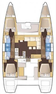 Alquiler de yate Atenas - Lagoon Lagoon 450 F en SamBoat