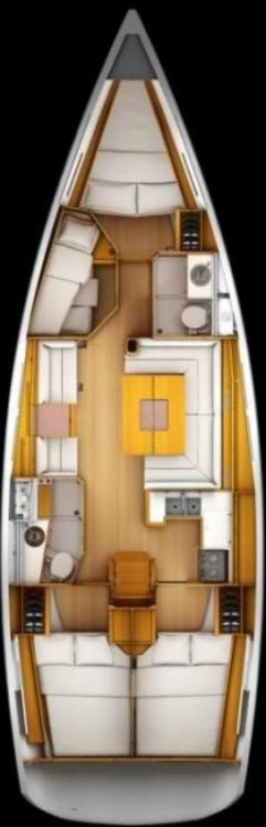 Jeanneau Sun Odyssey 439 entre particulares y profesional Seget Donji