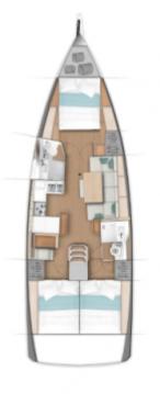 Alquiler de barcos Komolac barato de Sun Odyssey 440