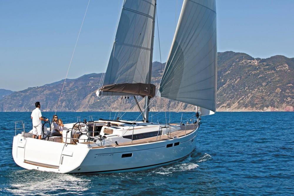 Alquiler de yate  - Jeanneau Sun Odyssey 479 en SamBoat