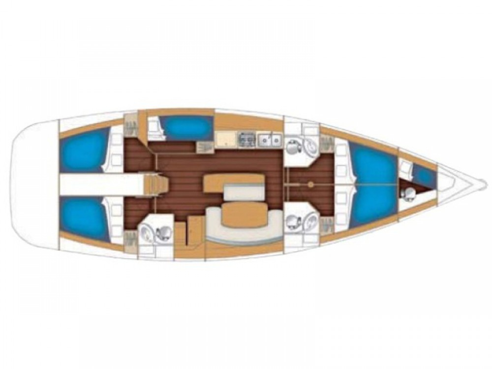 Alquiler de yate  - Bénéteau Cyclades 50.5 en SamBoat