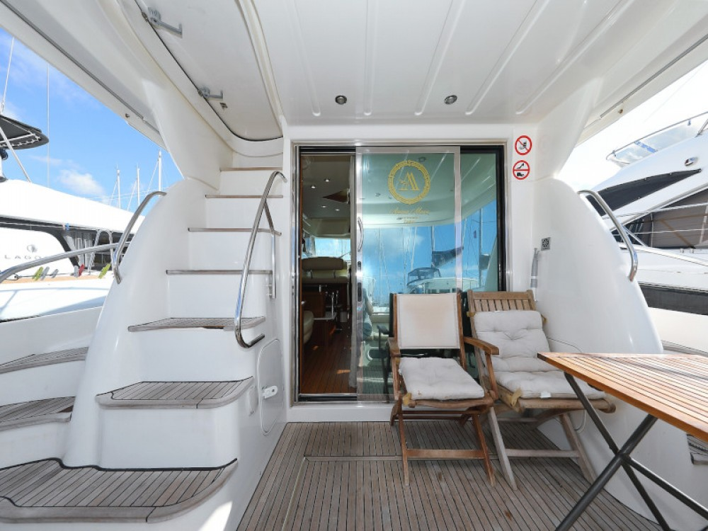 Alquiler de barcos Sukošan barato de Jeanneau Prestige 46 Fly