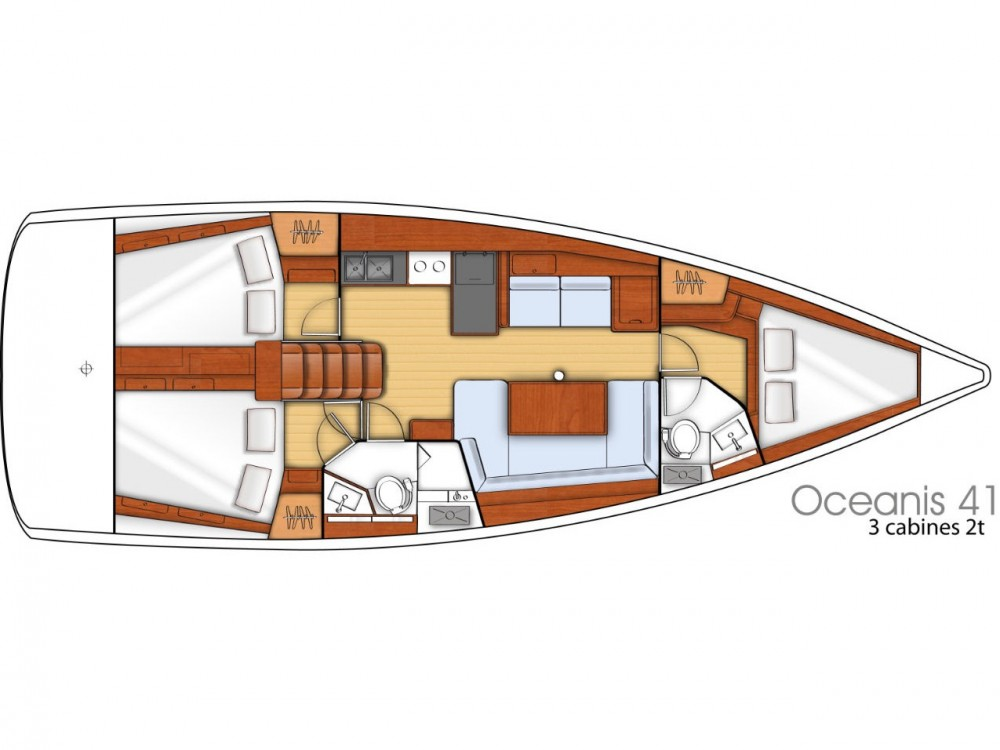 Alquiler de yate Marina de Alimos - Bénéteau Oceanis 41 en SamBoat