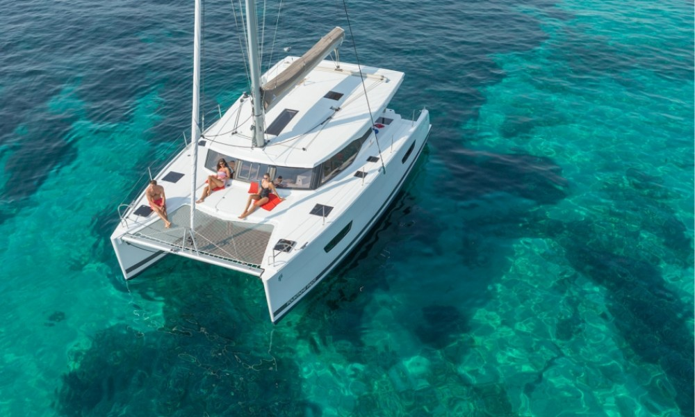 Fountaine Pajot Lucia 40 entre particulares y profesional Croatie