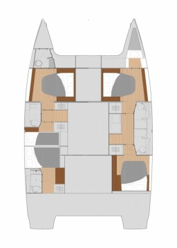 Alquiler Catamarán en Biograd na Moru - Fountaine Pajot Saona 47