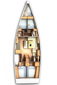 Alquiler Velero en Biograd na Moru - Hanse Hanse 505