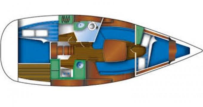 Alquiler Velero en Betina - Jeanneau Sun Odyssey 32