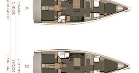 Alquiler de yate Lanzarote - Dufour Dufour 512 GL en SamBoat