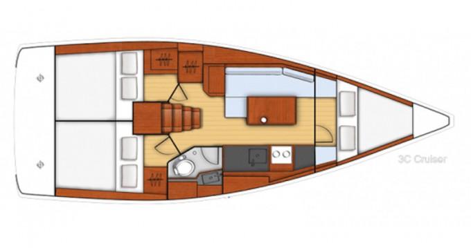 Alquiler de yate Marmaris - Bénéteau Beneteau Oceanis 35 en SamBoat