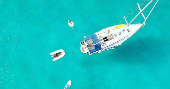 Alquiler Velero en Isla de Ibiza - Velero&Buceo&Fun Islas Baleares Furia 392
