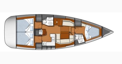 Alquiler de yate Castiglioncello - Jeanneau Sun Odyssey 42 DS en SamBoat