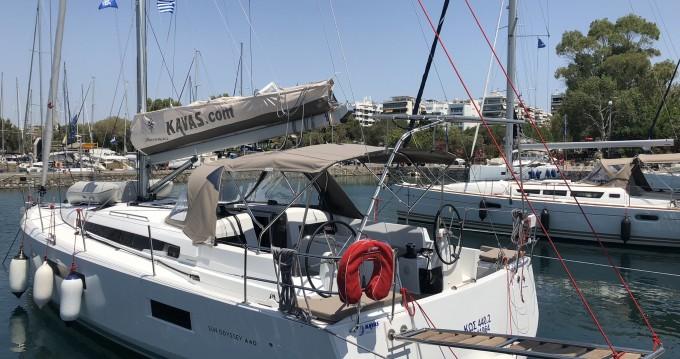 Jeanneau Sun Odyssey 440 entre particulares y profesional Lefkada (Isla)