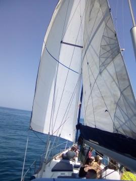 Alquiler Velero Thievent con título de navegación