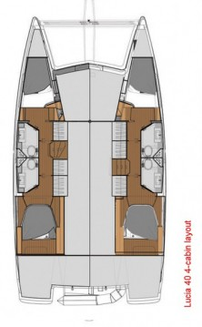 Fountaine Pajot Lucia 40 entre particulares y profesional Donji Seget