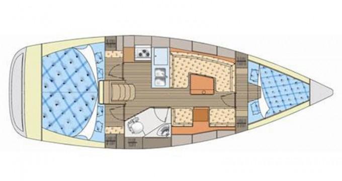 Alquiler de barcos Elan Elan 344 enKórfos en Samboat