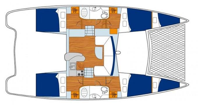 Alquiler Catamarán Leopard con título de navegación