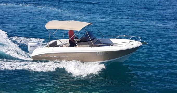 Alquiler Lancha Atlantic con título de navegación