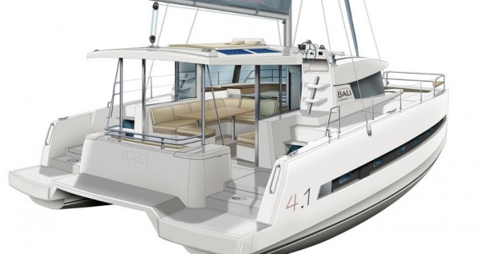 Catamarán para alquilar Gouviá al mejor precio