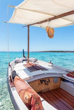Lancha para alquilar Formentera al mejor precio