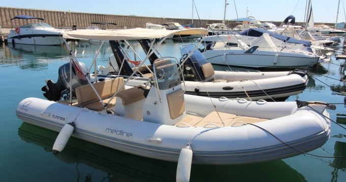 Alquiler de barcos Zodiac Medline 580 enSainte-Maxime en Samboat
