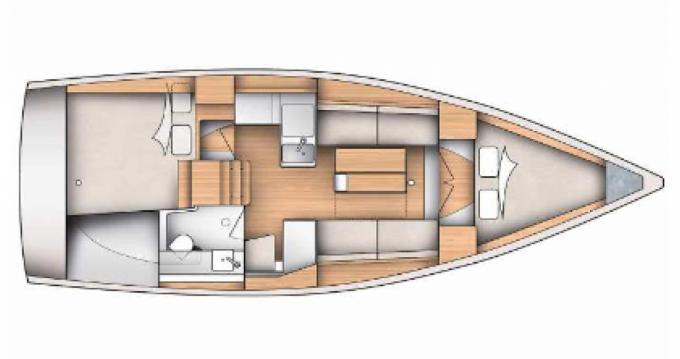 Alquiler de Dufour Yachts 350 en Hyères