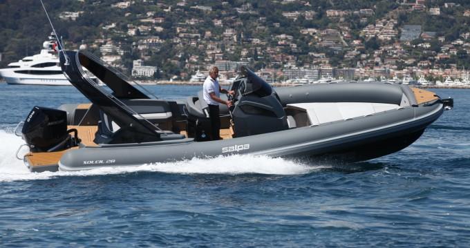 Alquiler de barcos Antibes barato de Soleil 28