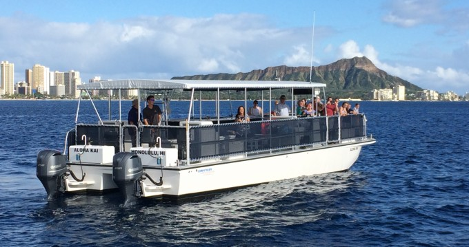 Alquiler de barcos Honolulu barato de 45