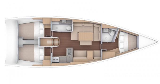 Alquiler de yate Marina di Portorosa - Dufour Dufour 412 Grand Large en SamBoat