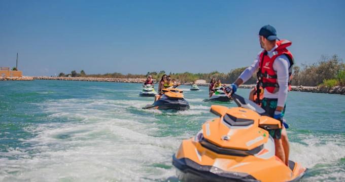 Alquiler Moto de agua Sea-Doo con título de navegación