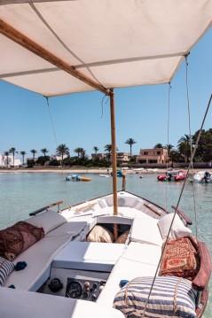 Alquiler Lancha en Formentera - Majoni Cala Gamba