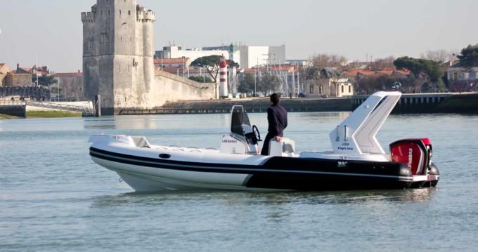 Alquiler Neumática en La Rochelle - Tiger Top Line 650