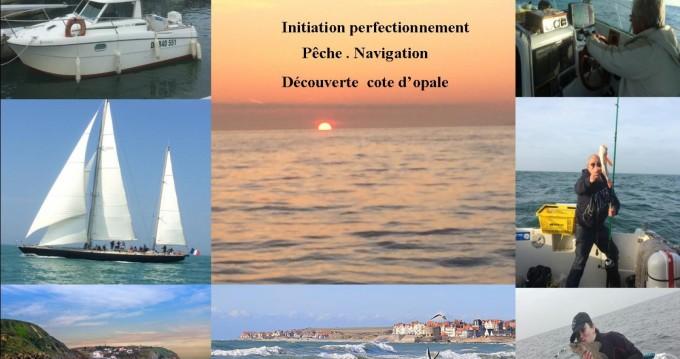 Lancha para alquilar Boulogne-Sur-Mer al mejor precio