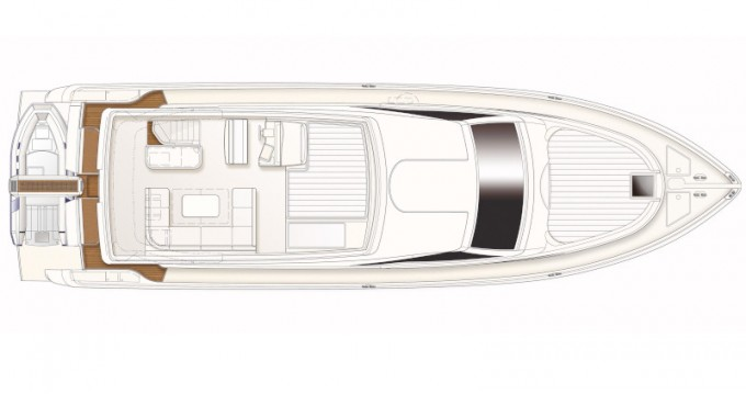 Alquiler de barcos Ferretti Ferretti 630 enTrogir en Samboat