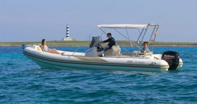 Alquiler de barcos Mahón barato de BSC 75 Classic
