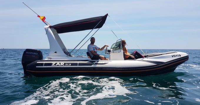 Alquiler de barcos Zar Zar 53 enValencia en Samboat