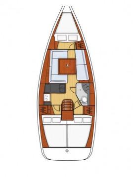 Alquiler de barcos Fethiye barato de Oceanis 34