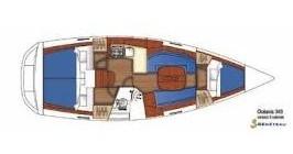 Alquiler de Bénéteau Oceanis 343 en Skiathos