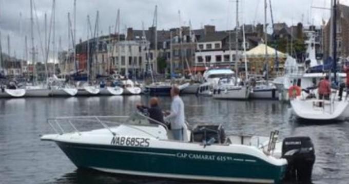 Alquiler de barcos Jeanneau Cap Camarat 615 WA enÎle-de-Bréhat en Samboat
