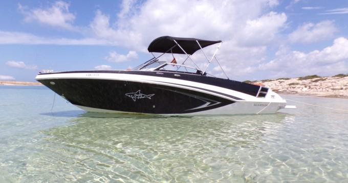 Alquiler Lancha en Isla de Ibiza - Glastron GT 245