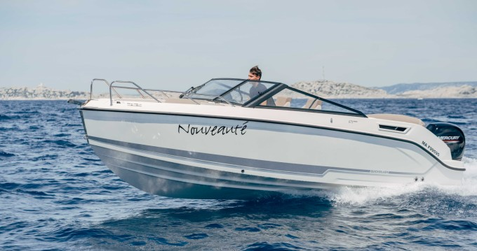 Alquiler Lancha en Pointe-Rouge - Quicksilver Activ 675 Bowrider