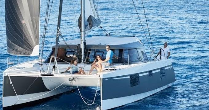 Alquiler de Catamarán, con o sin patrón Nautitech Barcelona
